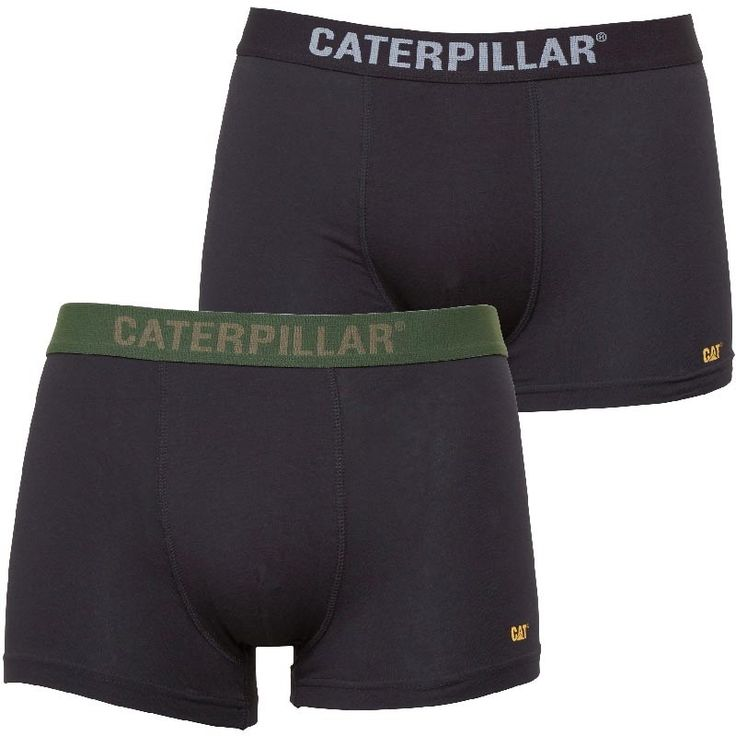 Caterpillar Mens Two Pack Boxers Black Caterpillar two pack boxer shorts. http://www.MightGet.com/february-2017-2/caterpillar-mens-two-pack-boxers-black.asp