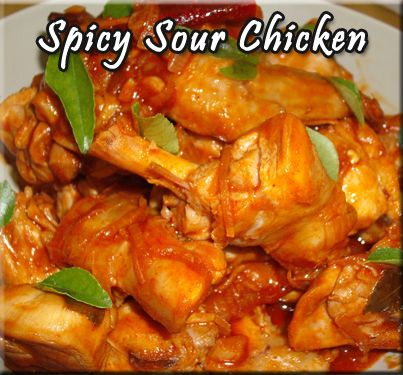 Spicy Sour Chicken   Food and drink   Pinterest