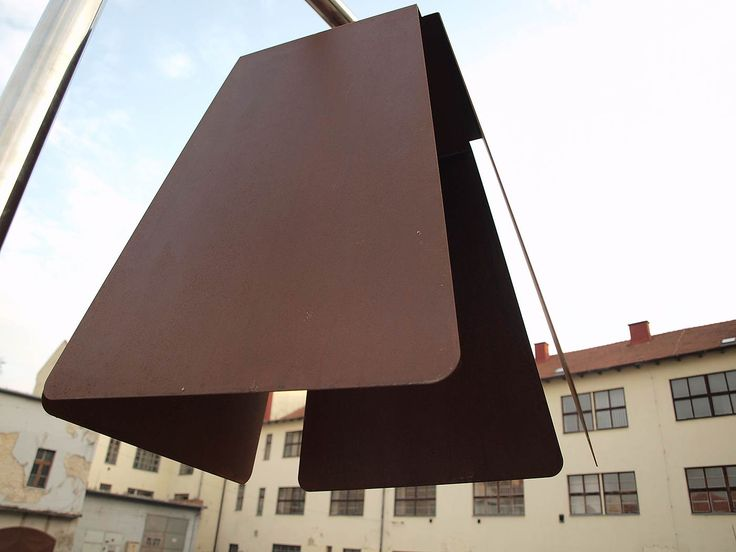 Corten lamp shade. At KENDU Design we created patinated corten steel furniture collection. www.kendudesign.com. see for more