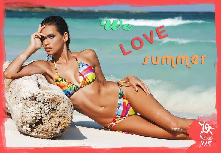 ¡Queremos verano, playa, mar, pileta y bikinis Luz de Mar! #verano2015 #moda #lovesummer