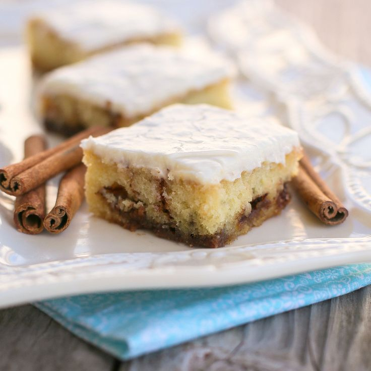 Cinnamon Roll Sheet Cake   The Girl Who Ate Everything Cookbook