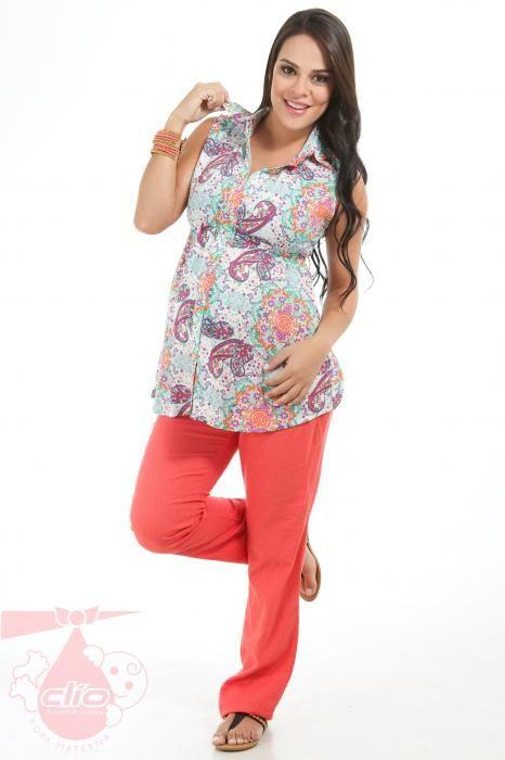#RopaMaterna con estilo para lucir durante tu #embarazo. www.clioropamaterna.com   Ropa para #embarazadas con las tendencias de la moda por temporadas.