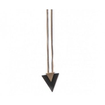 Double Triangle Necklace $49