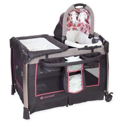 Baby Trend Go Lite Nursery Center Playard In Pink Baby
