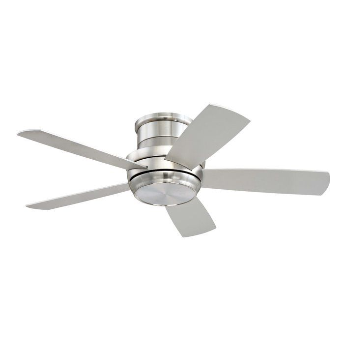 "Cool Contemporary 44"" Cedarton Hugger 5 Blade Ceiling Fan with Remote Inspirational - Amazing 5 light ceiling fan Modern"