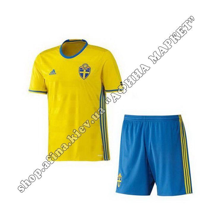 Форма Швеции ЕВРО-2016 Adidas домашняя