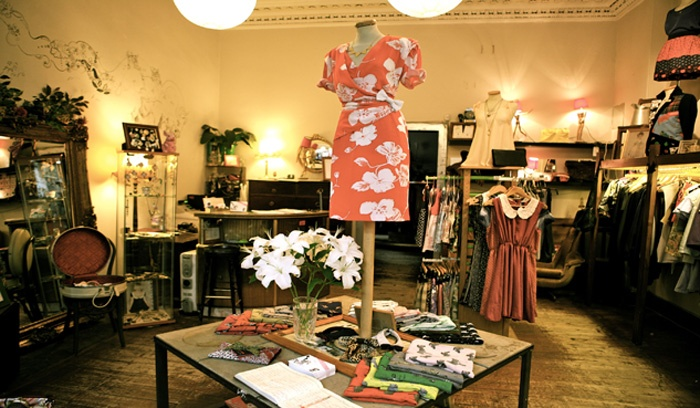 about our edinburgh designer vintage clothing store