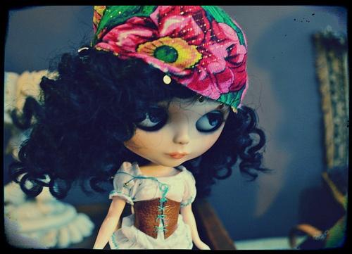 Muñeca gitana: Blythe Dolls, Blythe Meeting, Blythe Beautiful, Blythe Gipsy, Gipsy Blythe, Scarfs, Blythe Dollz, Blythe Bohemian, Photos Shared