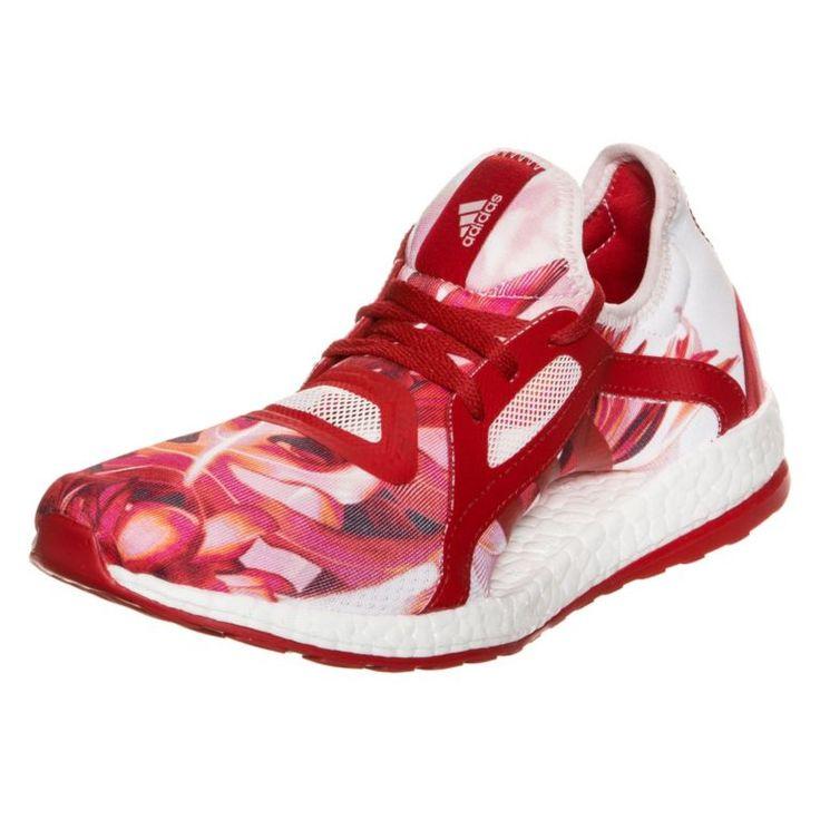 #adidas #Pureboost #X #Laufschuhe #Damen #rot #/ #weiß -