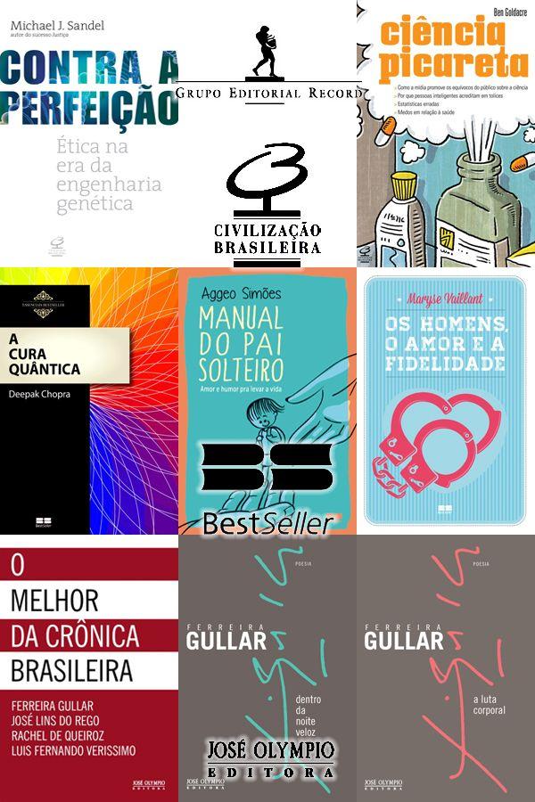 #Lançamentos de agosto da Editora Civilização Brasileira, Editora BestSeller e José Olympio (Grupo Editorial Record) http://www.leitoraviciada.com/2013/08/lancamentos-de-agosto-da-civilizacao.html