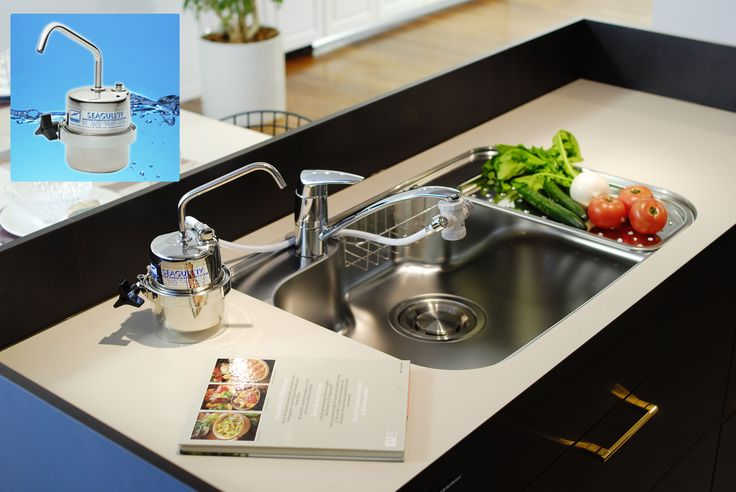エコロジーデポ シーガルフォー 浄水システムX-1DS  取付け簡単、高性能家庭用浄水システム! 飲料水専用に開発された技術により、水道水の雑菌や不必要な化学物質を除去しミネラル成分を含んだ水にします。