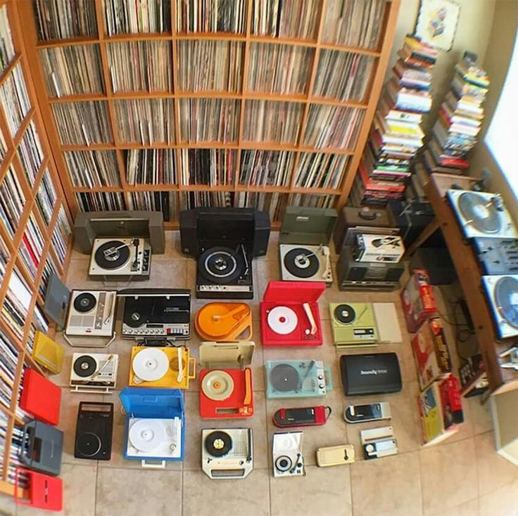 - Vinyl Record and Portable Record Player Collection - #Music #Records #Vinyl…