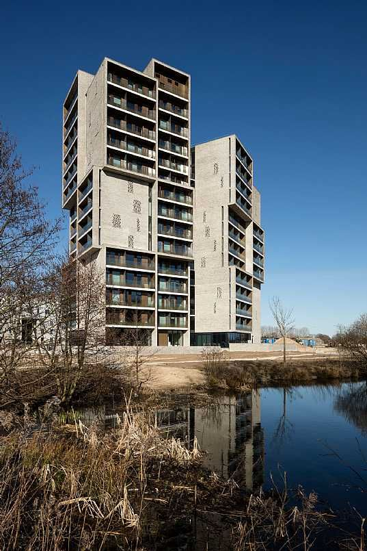 Campus Hall Student Housing, University of Southern Denmark (SDU) Odense, by C.F. Møller Architects