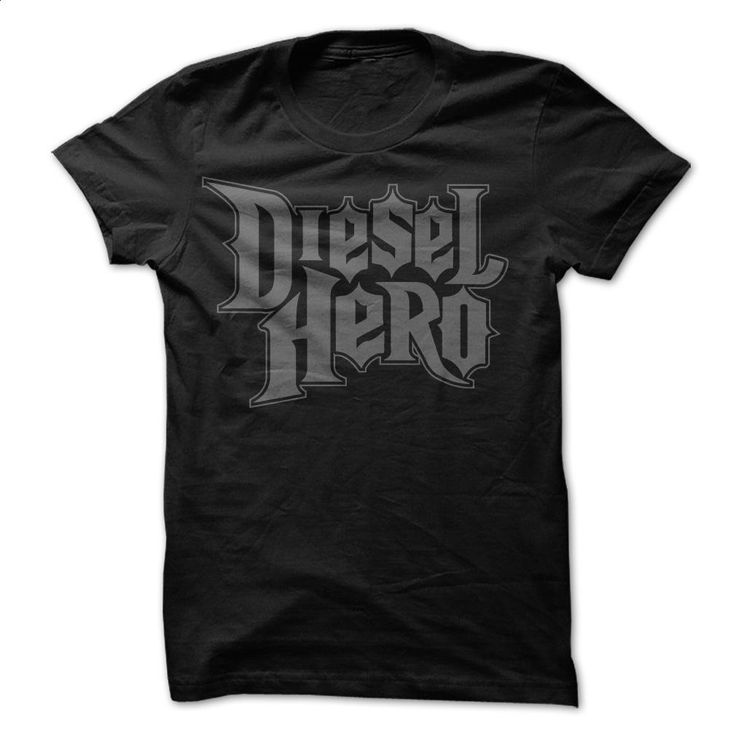 Diesel Hero T Shirts, Hoodies, Sweatshirts - #cool tshirt designs #kids hoodies. PURCHASE NOW => https://www.sunfrog.com/Automotive/diesel-hero-truck-tshirt.html?60505