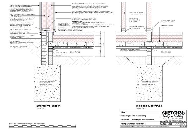 Self build passive house ground floor to timber frame for Self build floor plans