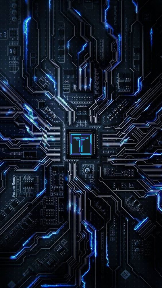 Wallpaper Phone Electronic Circuit Xiaomi Wallpapers Technology Wallpaper Phone Wallpaper Design