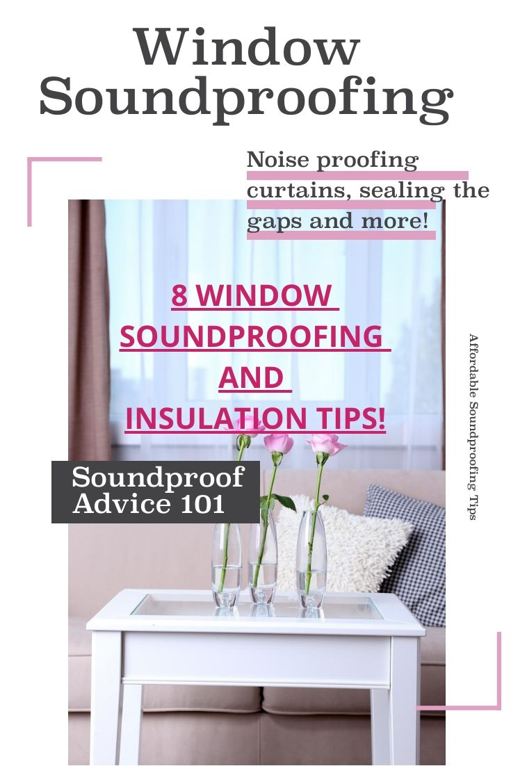 window noise insulation sound deadening diy window plug noiseblocking curtains and insulation with foam tape are few of many ideas shared in the full article soundproof windows diy
