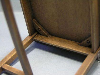 Купить или заказать Бабушкин стол 1:12. Коллекционная миниатюра в интернет-магазине на Ярмарке Мастеров. Простой стол в деревенском стиле, искусственно состаренный. Создается впечатление, что этому столу не один десяток лет, и за ним выросло несколько поколений. Прекрасно впишется в интерьеры времен прошлого столетия. Коллекционная миниатюра 1:12.