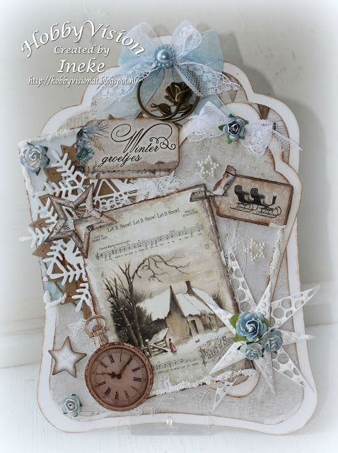"Ineke""s Creations: Winter groetjes"
