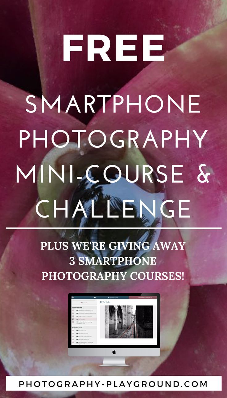 Smartphone photography mini-course & challenge