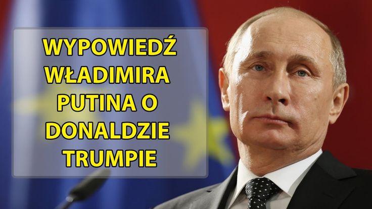 Putin o Donaldzie Trumpie i wyborach prezydenckich w USA [Polskie napisy]