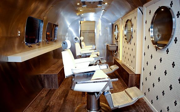 Fly Barbershop An Airstream Turned Barber Shop Dallas DAL ...