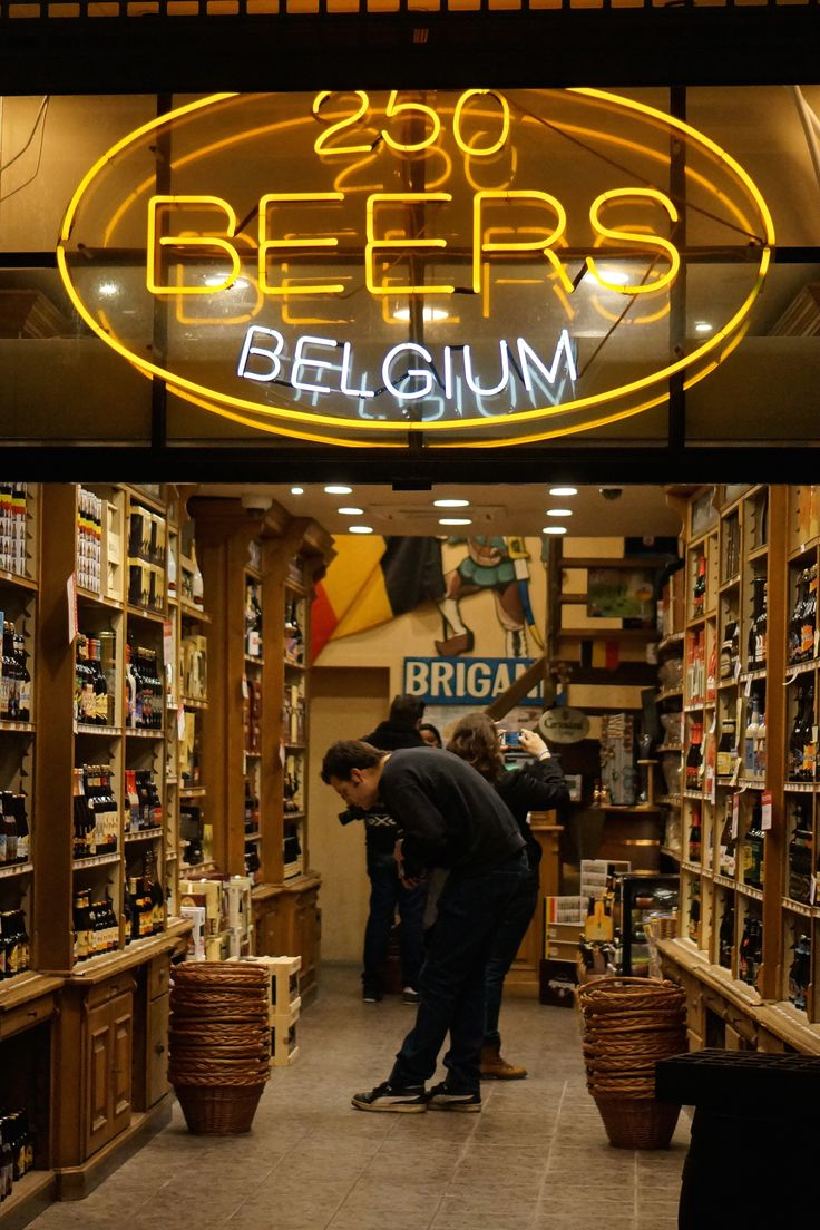 Not a shopper? What about shopping for beer in Brussels, Belgium-- the specialty stores have an insane selection, some beers which can only be found locally and are never exported.