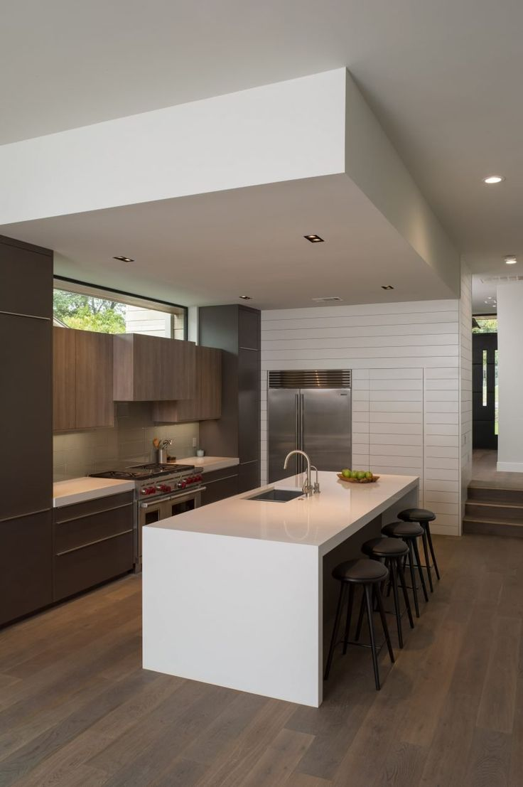 606 best kitchens images on pinterest kitchen designs kitchen an open concept kitchen living and dining room that occupy the central part of