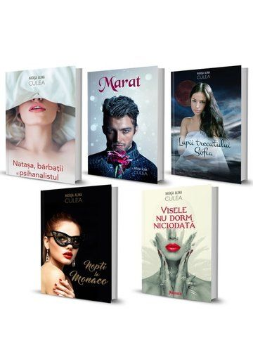 Pachet complet de autor. Natasa Alina Culea https://www.librex.ro/literatura-romana/pachet-complet-natasa-alina-culea-5-carti.html