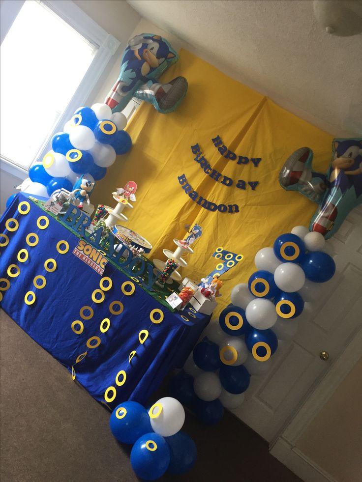 year birthday invitatiowordingiindiastyle%0A Sonic theme Birthday party ideas