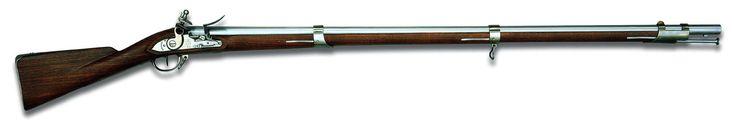 """Mosquete: Durante las Guerras Napoleónicas era famosa una variedad de mosquete:utilizado por la infanteria El mosquete modelo 1777 llamado """"Charleville"""" por una de las fábricas principales que lo produjeron."""