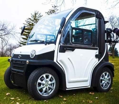 New 2016 Gsi Two Passenger Electric LSV Street Legal Low Speed ATVs For Sale in Illinois. EV2-28 is all about flexibility and versatility. With various customizing options and accessories, this model makes a smart choice for golfing, community cruising, and everyday shopping.100% Street Legal 2 Year warranty on all Major ComponentsSpecifications:Air-conditioningHeatingStereoTwo Rear SpeakersOn-board AntennaUSB & SD CapableLCD DisplayHydraulic Disk BrakesSun RoofRear & Side WindowsSeat…