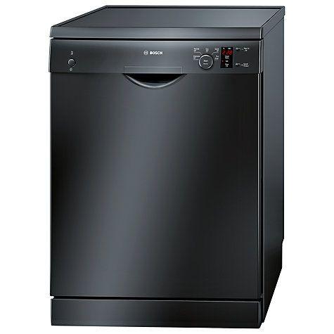 Buy Bosch SMS50T06GB Dishwasher, Black Online at johnlewis.com