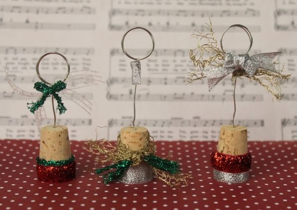 Wine Cork Place Card Holder by TopTenDiy