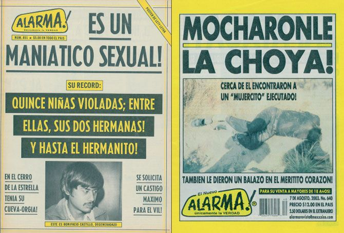 El Nuevo Alarma! Is Mexico's Best Crime Tabloid...