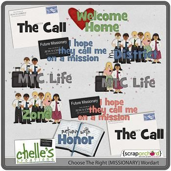 Choose the Right {MISSIONARY} wordart