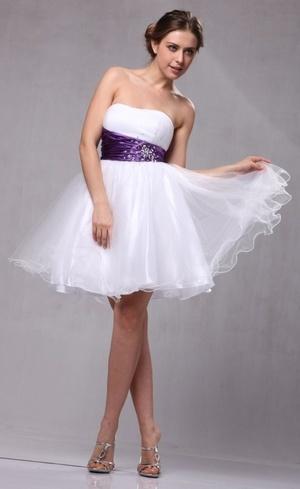 White Sweet 16 Dress