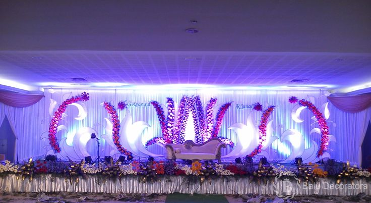 here the lights are make a heaven of this world......!@@ #decorationsofparty #weddingdecor  #baludecorations