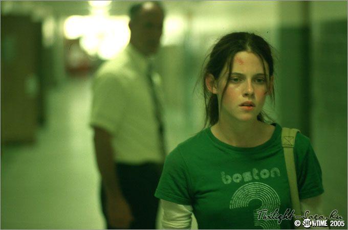 "Kristen Stewart in portrays the character of Melinda Sordino in the movie adaptation of Laurie Halse Anderson's book ""Speak""......."