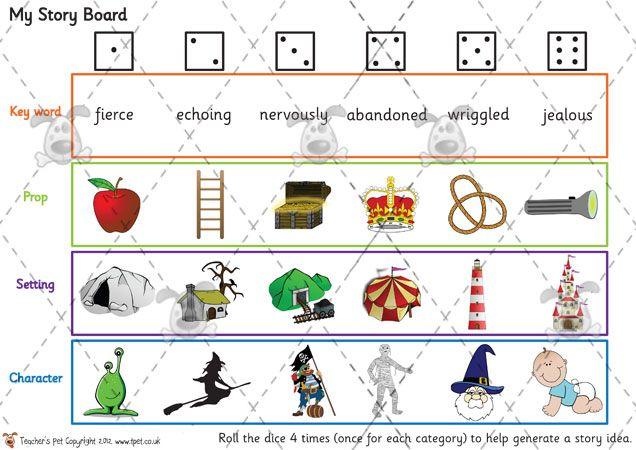 Teacher's Pet - My Story Boards - Premium Printable Game ...