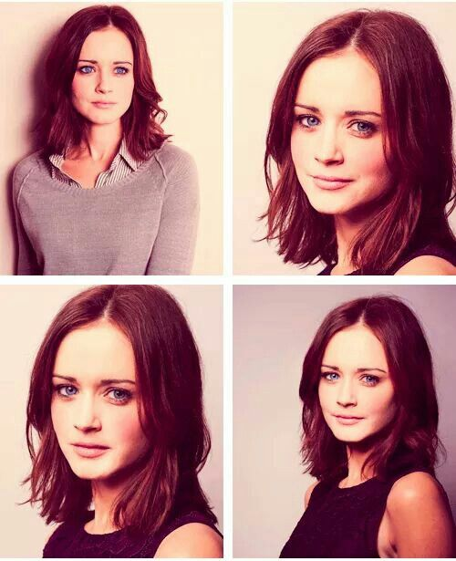 Alexis Bledel love her hair here