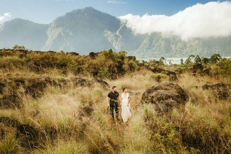 Best Bali Prewedding at Kintamani volcano by Bali Pixtura - Bali wedding photography & bali prewedding photographer