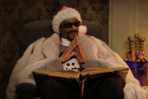 a very snoop christmizzle              Snoop Dogg is going to tell us the meaning of Christmas.    Twas the nizzle before Christmizzle, and all through the hizzle…    Not a creature was stirring, not even a mizzle.    fo shizzle.    All were awaiting Sizzle Clause and his bag  To bring the good homies and bitches their swag        YES IT'S BACK