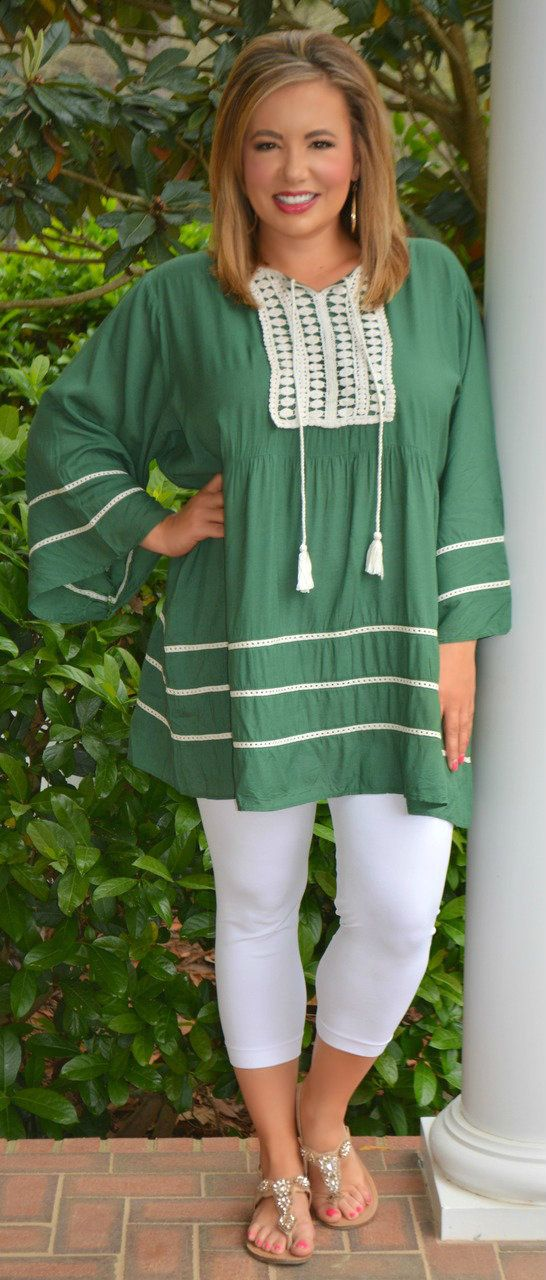 Perfectly Priscilla Boutique - Lucky In Love Tunic, $43.00 (http://www.perfectlypriscilla.com/lucky-in-love-tunic/)