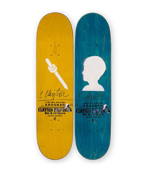 Clayton Brothers x Krooked Skateboards Decks