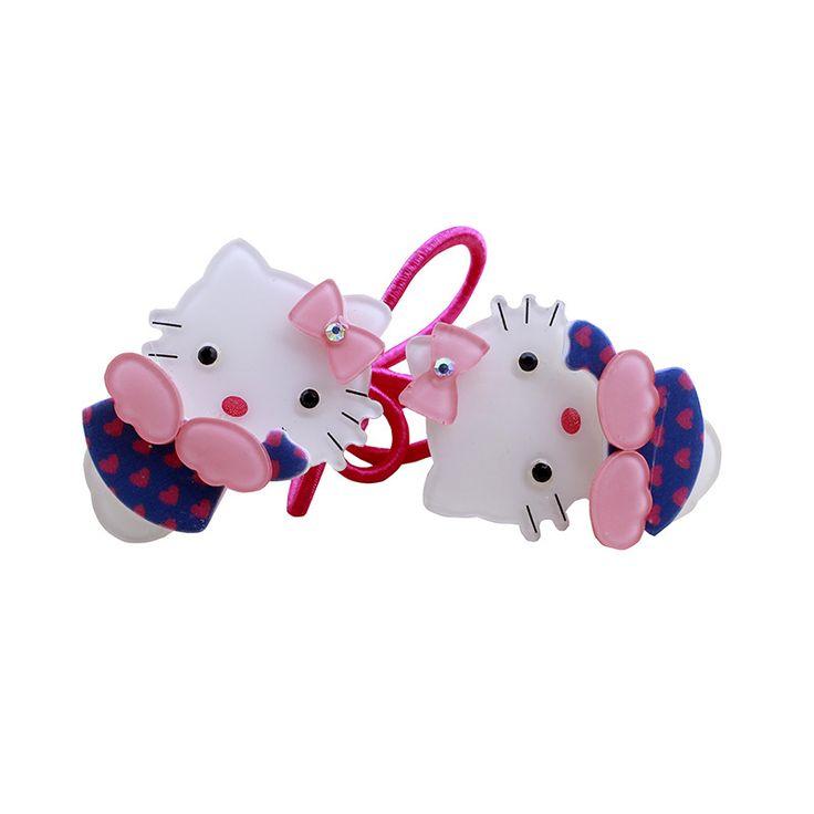 2016 аксессуары для волос hello Kitty зажим для волос бок узлом клип шпильки детские аксессуары многоцветной оптовая Завод прямых продаж