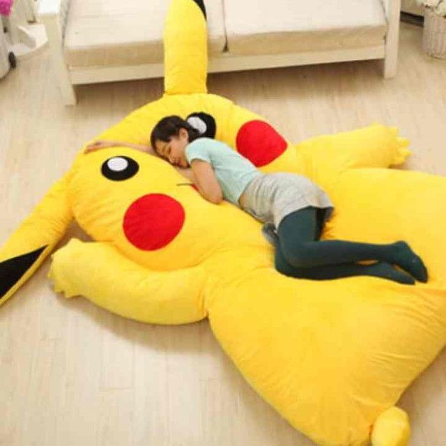 Huge Pikachu Bed to Be Released