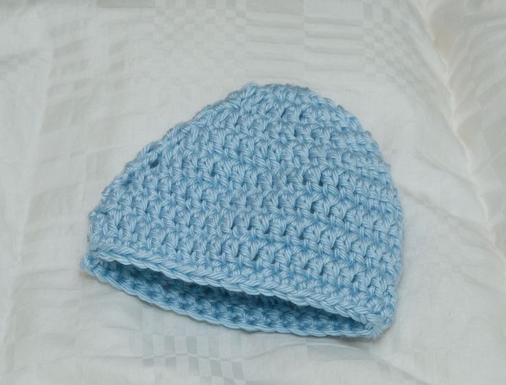 Crocheted beanie Customizable colors and sizes infant to adult