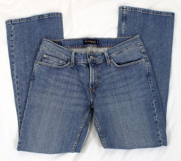 Too Superlow Jeans. Levi Strauss 524. Women's/Juniors. Medium Wash Denim. Size: 9 Short. Material: Cotton Blend. | eBay!