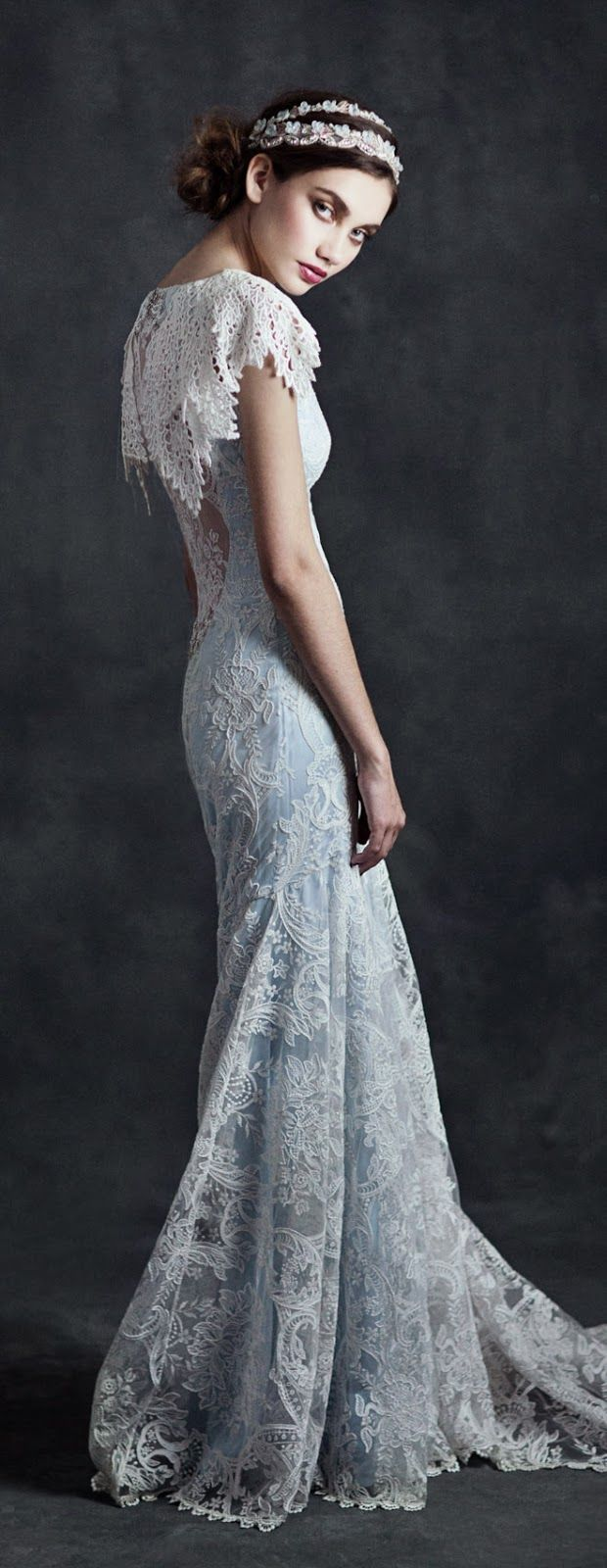 "Claire Pettibone 2015 Bridal Collection ""Gothic Angel"""